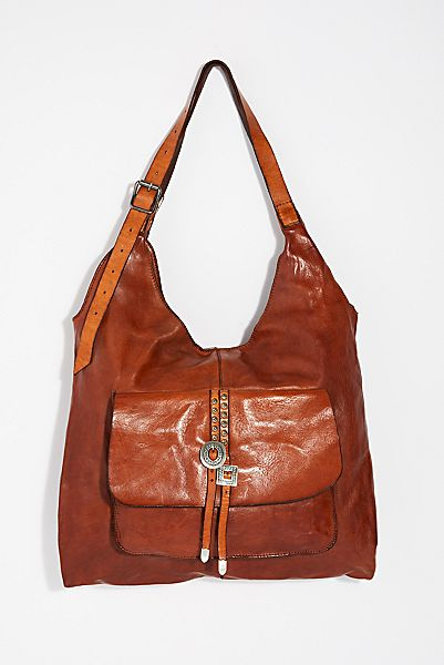 "Campomaggi Hobo Bag ""Buckle"""