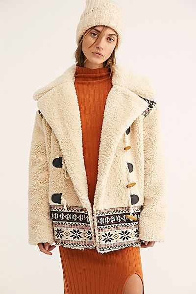 "Free People Teddy Coat ""Oh My"""