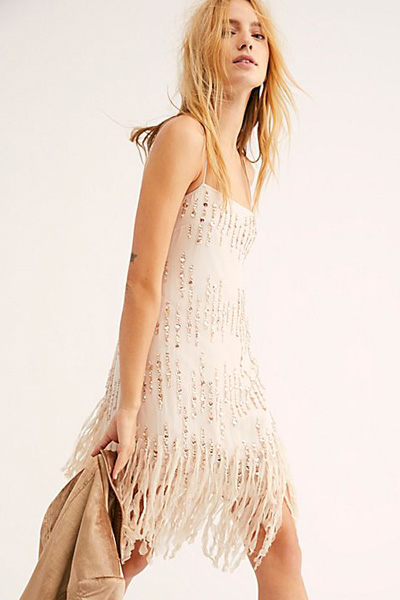 "Free People Mini Dress ""Crystal Clear"""