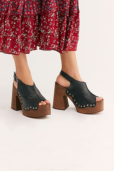 "Free People Platform Clog Shoes ""Freeform"""