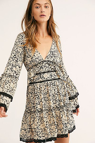 "Free People Mini Dress ""Kristall"""