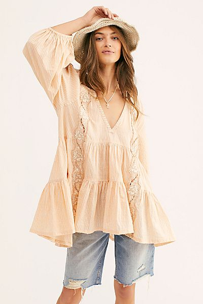 "Free People Boho Tunic Top ""Another Special Day"""