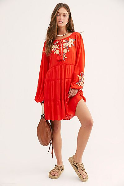 """Free People Mini Dress """"Spell On Your"""""""