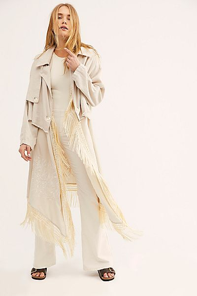 "Free People Trench Coat ""Two-fer"""