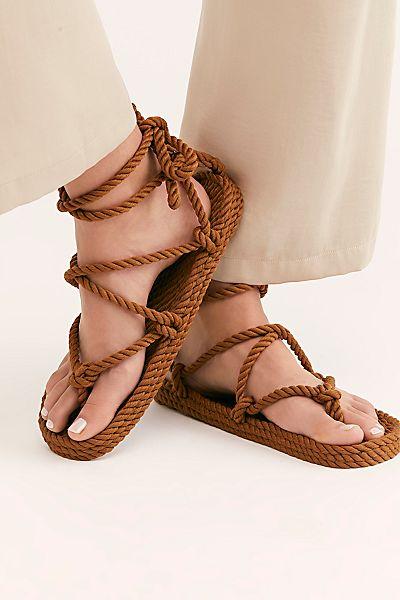 "Nomadic State Of Mind Rope Sandals ""Romano"""