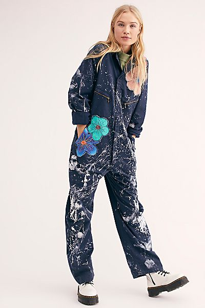 """Rialto Jean Project Embroidered Coveralls """"Kelsey"""""""