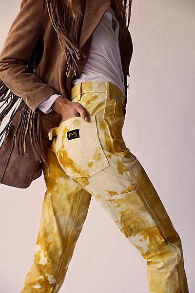 """Riverside Utility Pants """"Mustard Tie Dye"""""""