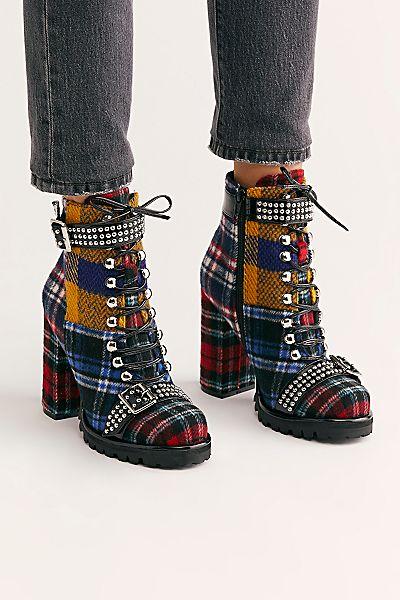 "Jeffrey Campbell Grunge Platform Boot ""Lilith-2"""