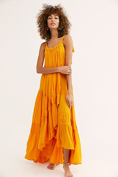 "Free People Maxi Dress ""Bare It All"""
