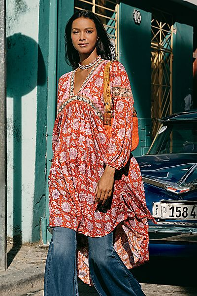 """Free People Maxi Top """"Moon Child"""""""