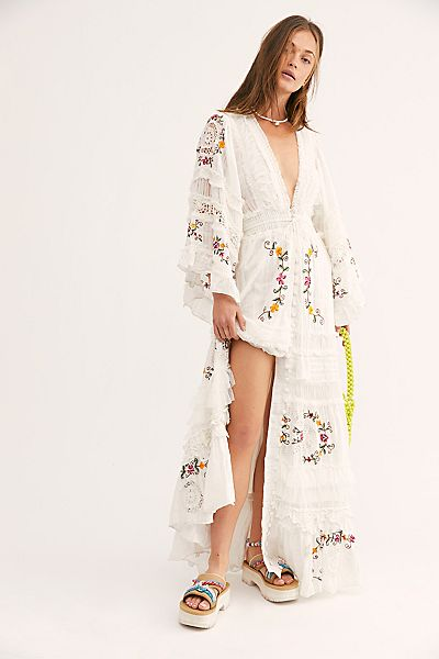 "Fillyboo Bohemian Maxi Dress Duster ""Charm Your Way"""