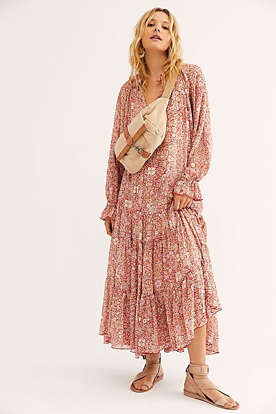 "Free People Maxi Dress ""Groovy Feeling"""
