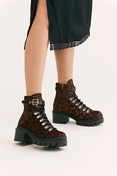 "Jeffrey Campbell Boots ""Cheetah Check"""
