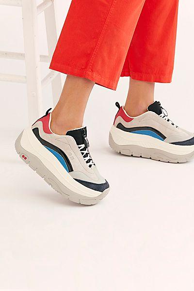 "Coolway Platform Sneakers ""Side Streets"""