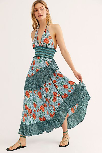 "Free People Maxi Dress ""Gabriela Slip"""