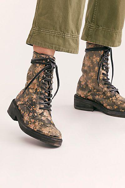 "Free People Combat Boots ""Santa Fe"""