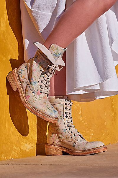 """Free People Lace-Up Boots """"Santa Fe"""""""