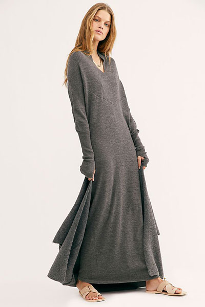 Nicholas K Sweater Maxi Dress