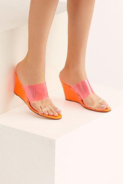 "NYLA Sandals ""Miami Breeze Wedges"""