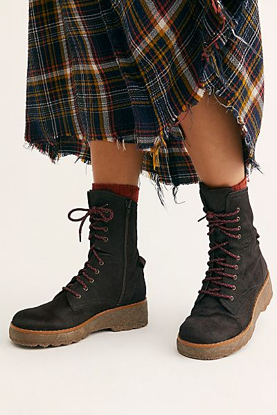 """Free People Boots """"Taos Lace-Up"""""""