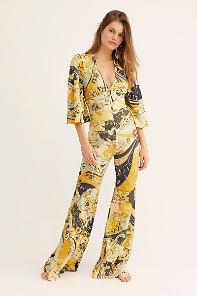 "Free People Jumpsuit ""Retro Night Fever"""