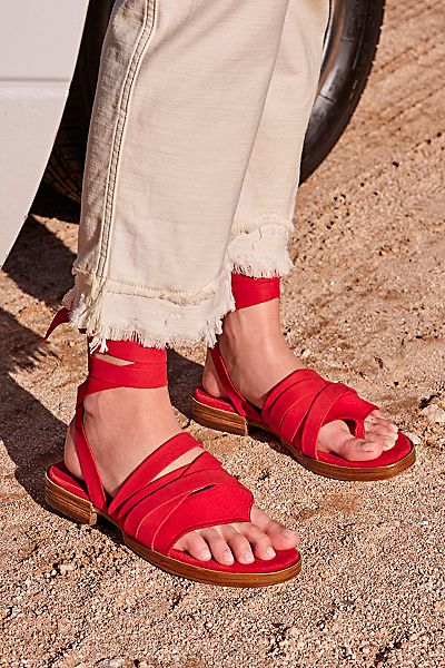 "Free People Wrap Sandals ""Sun Valley"""