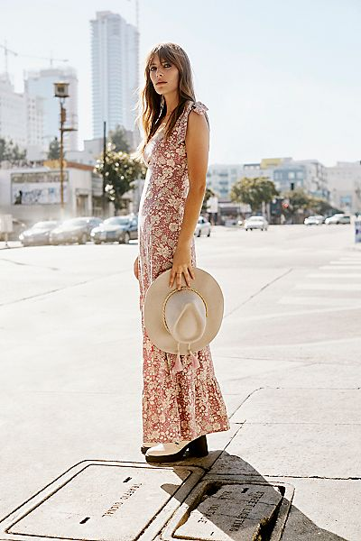 "Free People Maxi Dress ""In The Fields"""