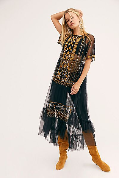 "Free People Maxi Top ""Sabrina"""