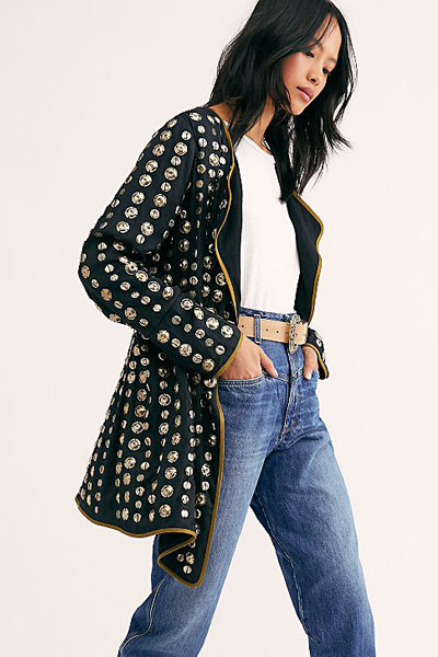 """Free People Jacket """"Coin"""""""