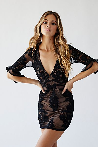 "For Love & Lemons Mini Dress ""Temecula"""