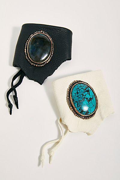"Anvil + Aura Cuff Bracelet ""Antigua"""
