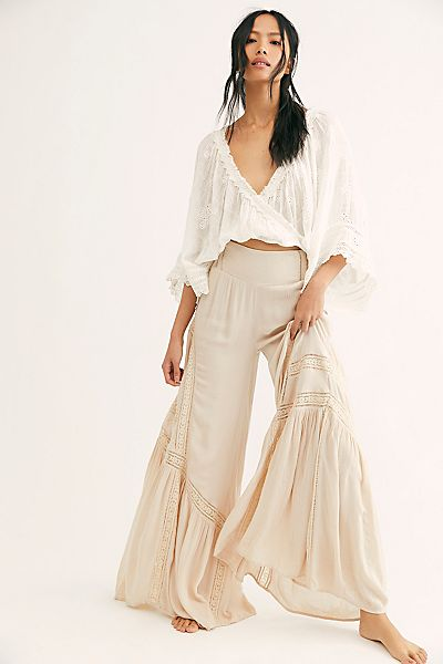 "Free People Pants ""Lovin's Easy Wide Legs"""