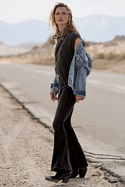 """Free People Flare Jeans """"Dream Lover"""""""