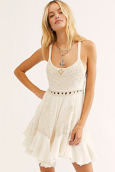 "Free People Mini Dress ""Encrusted"""