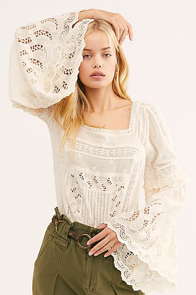 "Free People Bodysuit ""Dreams Like These"""