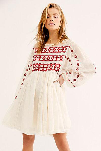 "Free People Mini Dress ""Need Me"""