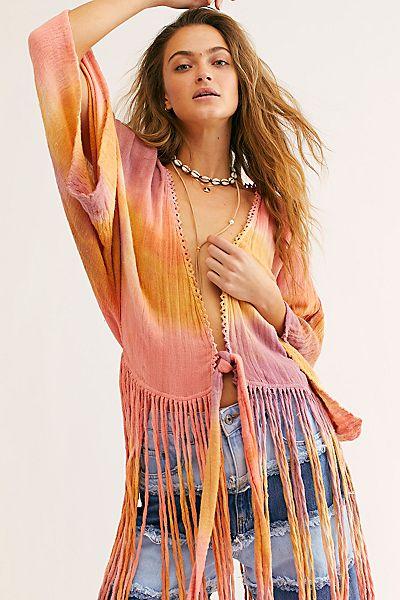 """JPB Kimono """"January River Tie Dye"""""""