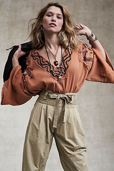 """Free People Top """"Cross Country"""""""
