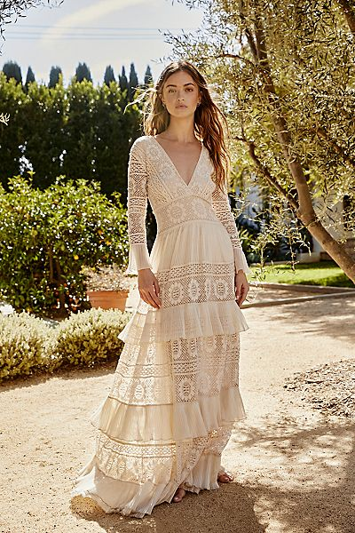 "LoveShackFancy Maxi Dress ""Lennon"""