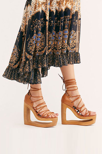 "Jeffrey Campbell Sandals ""Bennie Platforms"""