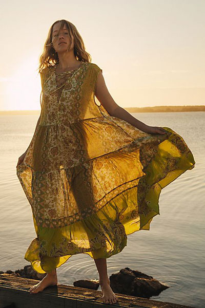 "Free People Maxi Dress ""Hanalei Bay"""