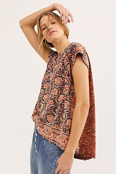 "Free People Top ""High Tide Tee"""