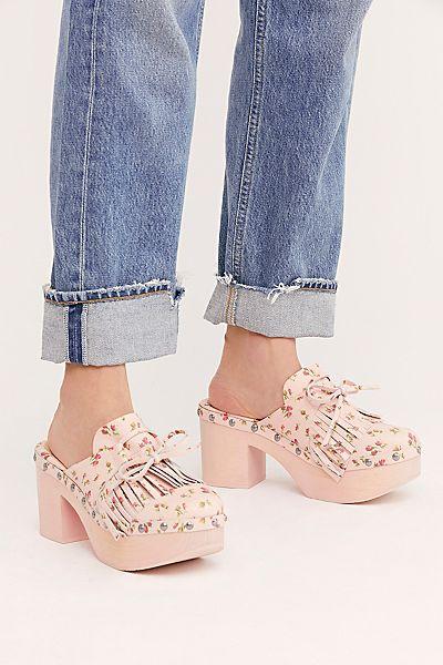 """Anna Sui Clogs Shoes """"Ashley"""""""