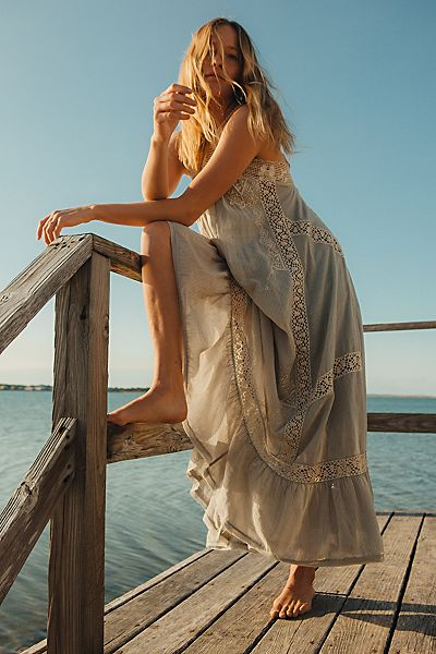 "Free People Maxi Dress ""Victoria Falls"""