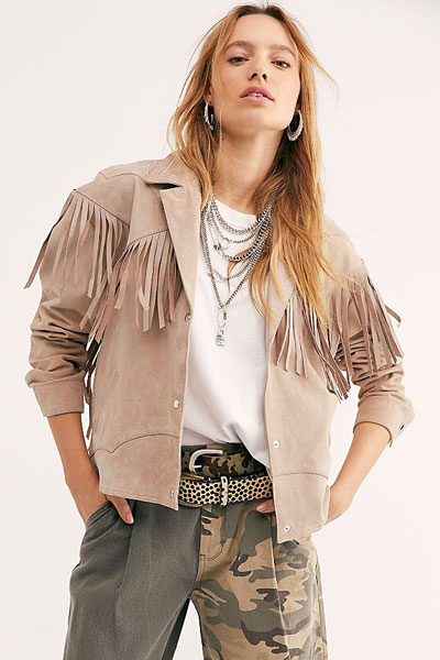 "Understated Leather Jacket ""Nashville"""