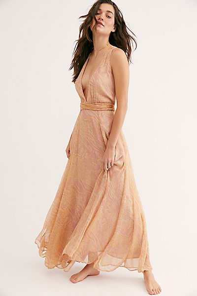 "Free People Maxi Dress ""Giorgia"""