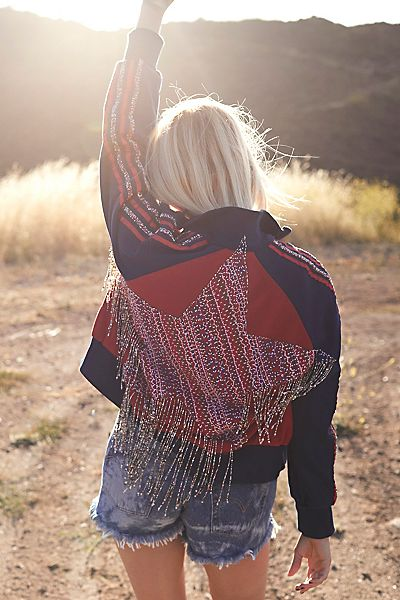 "Free People Jacket ""Crazy Cool American"""