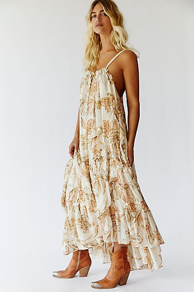 "Free People Maxi Dress ""Sparkly Bare"""