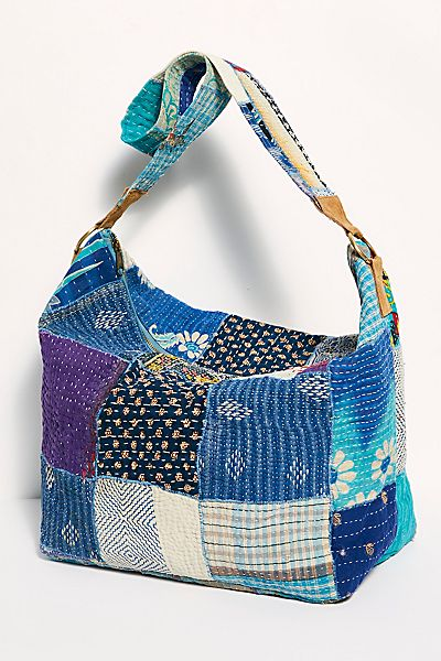 "Free People Tote Bag ""Vienna Patchwork"""