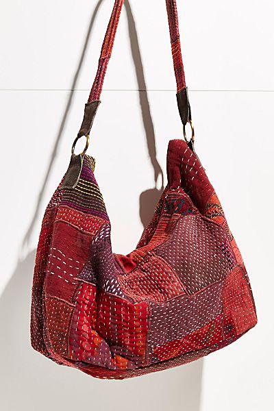 "Free People Bag ""Vienna Patchwork Tote"""